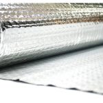 Aislante térmico de burbujas 5 mm una cara aluminio 1×15 m