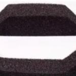Burlete Compriband trapezoidal para junta chapa x 1 metro