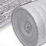 Aislante térmico de 5 mm con 1 cara de aluminio puro 1×20 m