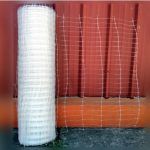 Malla plastica Sosten para aislantes x mt2