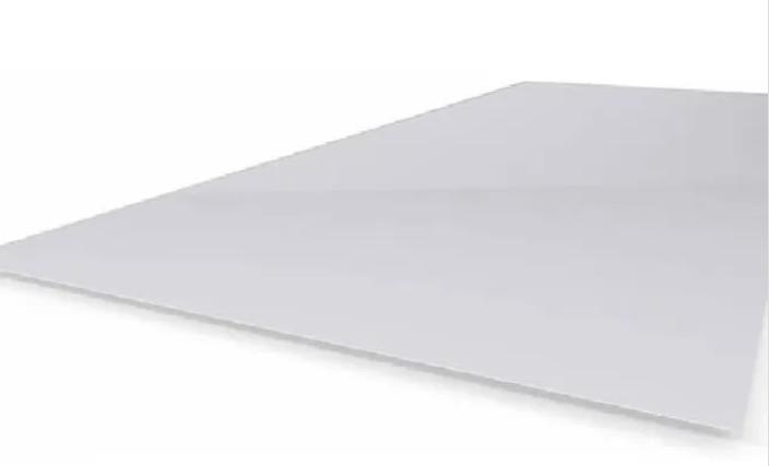 Chapa lisa de polipropileno opalino x metro