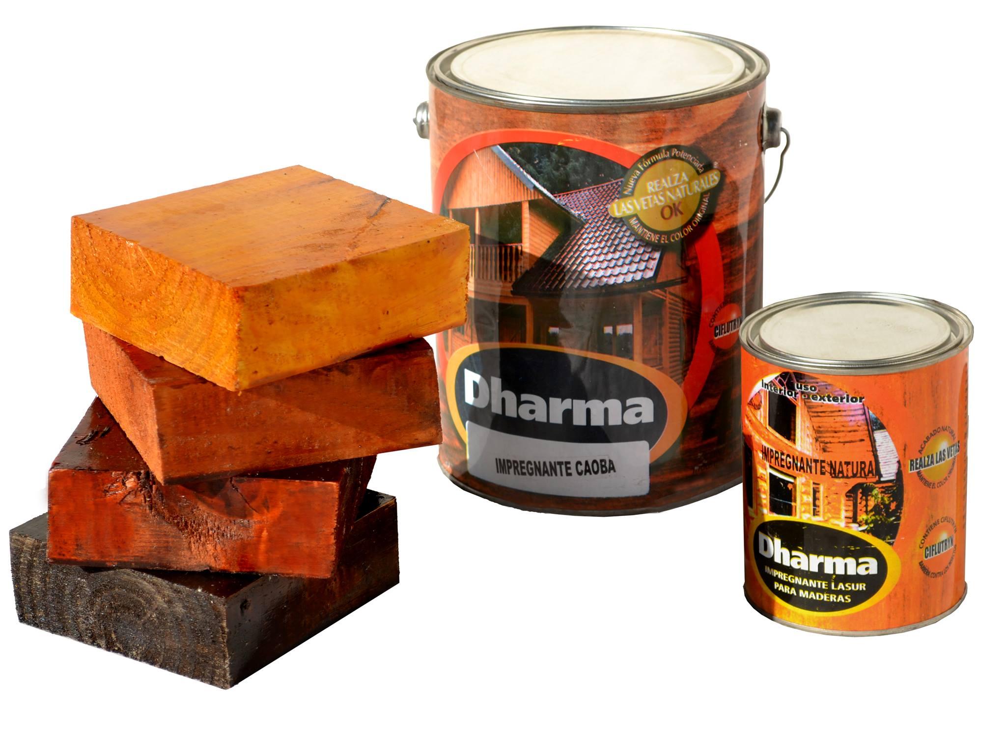 Impregnante para maderas Dharma  x 4 lts